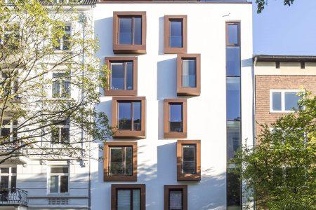 Zimmerstraße 28 - Straßenfassade