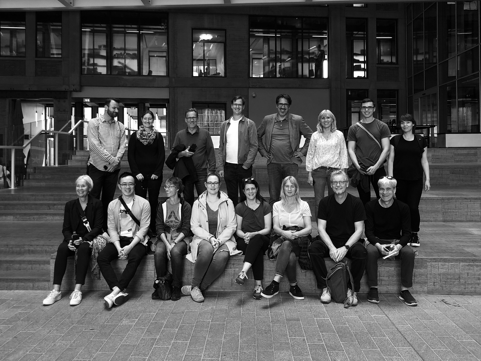 Reise Rotterdam Gruppenbild